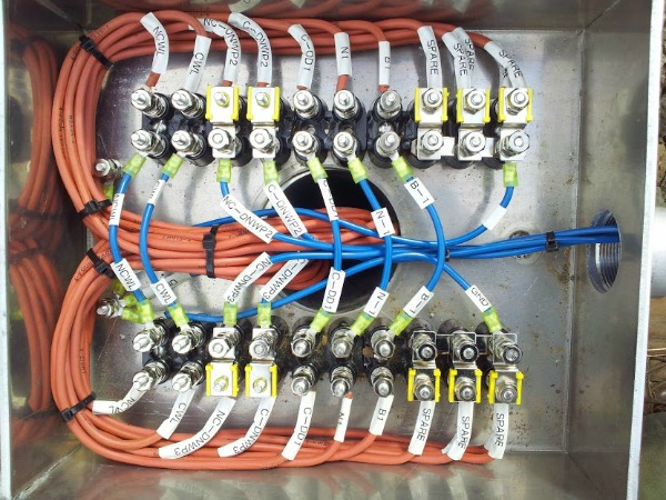signalman switch junction box wiring